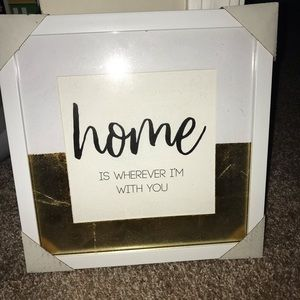 Home Framed Sign